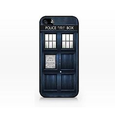 Doctor Who Tardis Police Box Pattern Plastic Hard Case for iPhone 4/4S – USD $ 5.99