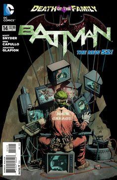 Batman #14. Cover by Greg Capullo.