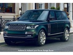 Land Rover Special Vehicle Operations joins forces with Holland & Holland to create their most luxurious SUV ever. Click image to read more!!!