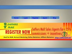 You are looking for Multi Level Marketing Opportunities Program. Saffers Mall providing Opportunities for Affiliate Marketing Program at affordable price, with the nu.