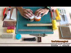 Basic Leather Craft Tools - SorSrimongkol - อุปกรณ์พื้นฐานสำหรับงานหนัง โดย...ร้าน ส.ศรีมงคล