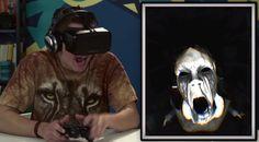 Oculus Rift, brýle, které ti umožňují přenést se do světa virtuální reality, jsou vážně COOL. Podívej se, jak zareagovali teenageři, kdy…