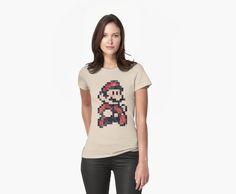 «Super Mario Bros 3 Vintage Pixels» de Lidra