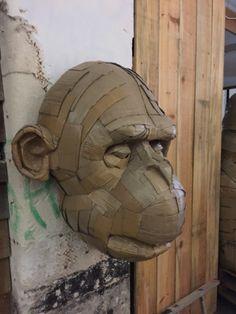 Paper Mache Sculpture, Lion Sculpture, Bordeaux, Origami, Statue, Design, Art, Make Up Looks, Fashion Plates