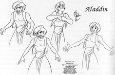 Category: Model Sheet Monday - Character Design Page Aladdin