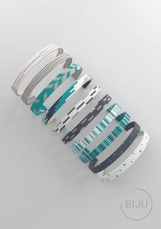 Loom bracelet pattern loom pattern miyuki pattern square | Etsy