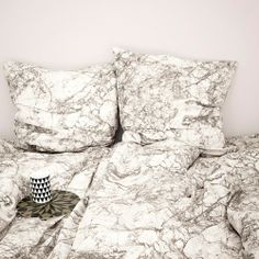 Adult Marble Bedding in Grey design by Ferm Living
