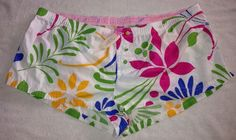 Victoria's Secret L PINK Boy Short Sleep Lounge Floral