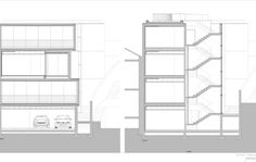 Cantareira Building,Sections