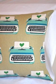 love to write pillow by norajane on etsy