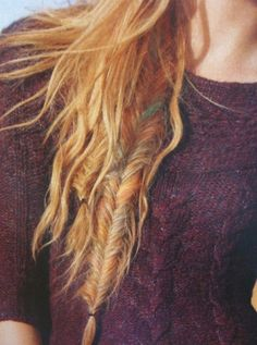 Native braid.. aka the fishtail
