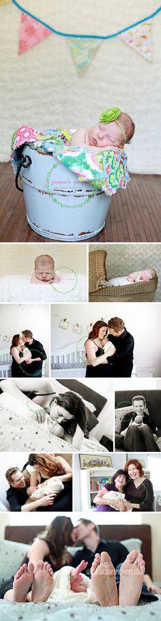 newborn + lifestyle shoot
