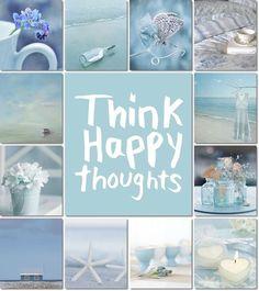 Paleta ❤ azul pastel ♡♡♡ by Audrey T Inspiration Wand, Color Inspiration, Collages, Pot Pourri, Think Happy Thoughts, Color Collage, Photo Images, Beautiful Collage, Jolie Photo
