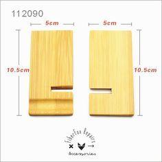 Universal Wooden Support Phone Stand Cellphone Holder design Mobile phone rack desktop display Más