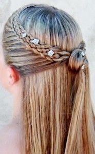 Peinados para niñas que acompañan a la novia el dia de su boda | De todo Niños