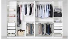 61 Trendy Ideas For Bedroom Ikea Closet Built Ins Closet Built Ins, Closet Shelves, Closet Storage, Bedroom Storage, Storage Cart, Storage Drawers, Master Bedroom Closet, Ikea Bedroom, Bedroom Wardrobe