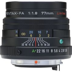 The Pentax SMCP-FA 77mm f/1.8 Limited lens is a versatile, high resolution medium-telephoto lens that was specifically designed with portrait and snapshot applications in mind. As a result, it accurat