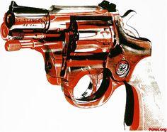 Andy Warhol - Gun, 1981.