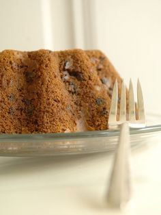 Steamed pecan cake