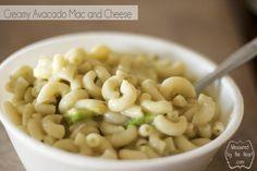 creamy avocodo mac and cheese