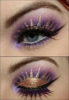 I would wear this eye makeup on my wedding day!