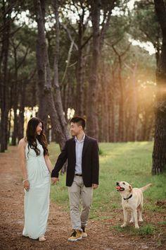 Centennial Park Prewedding Photography Session   Engagement Photos – Sydney Wedding Photographer :: Vincent Lai