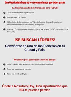 Buscamos Lideres - TALK FUSION MEXICO