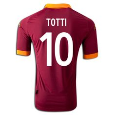 Click Image Above To Buy: Kappa Daniele De Rossi As Roma Authentic Home Jersey Xxl Erik Lamela, As Roma, Football Jerseys, Kappa, Soccer, Shopping, Messi, Tops, Image