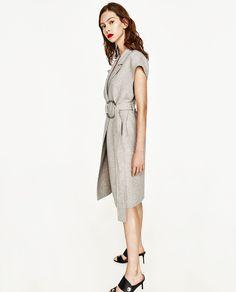 Image 3 of LONG WAISTCOAT from Zara