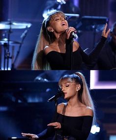 September 19: Ariana performing on 'The Tonight Show Starring Jimmy Fallon'  in…