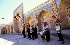 Music is an integral part of Navruz celebrations. Photo credit: Peter Guttman.