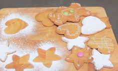 Gingerbread men or biscuits