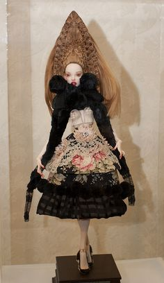 Artist doll by Popovy Sis