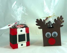 with the retire Fancy Favor box. . The reindeer ears are from the Sizzix Die Bigz Autumn Accents die.