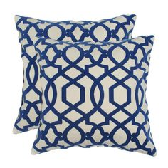 I pinned this Hampton Pillow in Lunar (Set of 2) from the Elisabeth Michael event at Joss and Main!