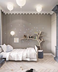 LOOK: Find Modern Kids Bedroom Interior Design Including Brilliant Ideas Modern Kids Bedroom, Childrens Bedroom, Modern Room, Teen Girl Bedrooms, Princess Bedrooms, Bedroom Boys, Kids Room Design, Girl Room, Bedroom Decor