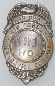 WWII Air Service Command HQ, Air Forces, War Department