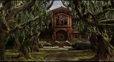 Uncle Monty's House - Lemony Snicket's: A Series of Unfortunate Events  Absolutely stunning!  I would live there in a heartbeat...just remove most of the animals ;D