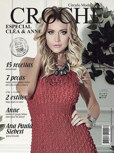 Artesanato com amor...by Lu Guimarães: LANÇAMENTO: Revista Moda Crochê (Cléa e Anne)
