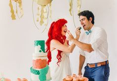 Disney lovers will obsess over this Little Mermaid themed-wedding