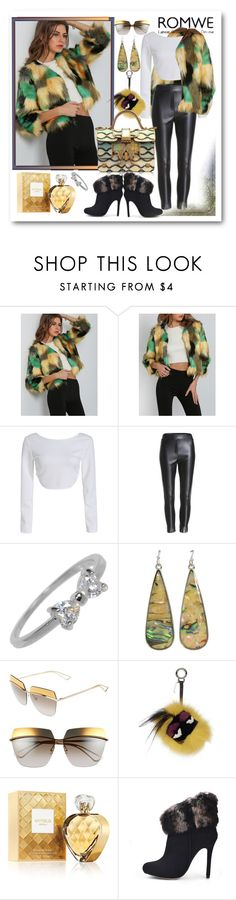 """""""Untitled #591"""" by ane-twist ❤ liked on Polyvore featuring Christian Dior, Fendi, Elizabeth Arden and Giancarlo Petriglia"""