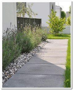 garden backyard concrete alternative