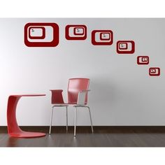 Style and Apply Retro Wall Hanger Decal Art Home Decor ( 31in x 24in)