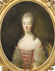 Portrait de Marie-Jeanne Bécu, comtesse du Barry, par François Hubert Drouais