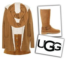 """""""The New Classics With UGG: Contest Entry"""" by jasmimestefany ❤ liked on Polyvore featuring Nümph, MaxMara, Zara, UGG and ugg"""
