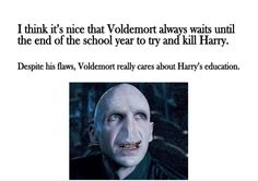 voldemort does have a good side
