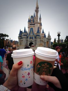 Starbucks at Disney, where were you last year????