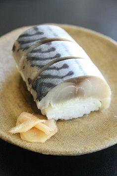 Shime Saba - Marinated mackerel sushi