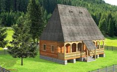 Village House Design, Village Houses, Concept Home, Design Case, Home Fashion, Traditional House, Romania, Tiny House, Sweet Home