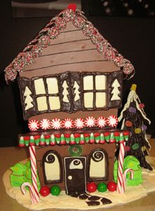 LCC's Chocolate Version of the Gingerbread House